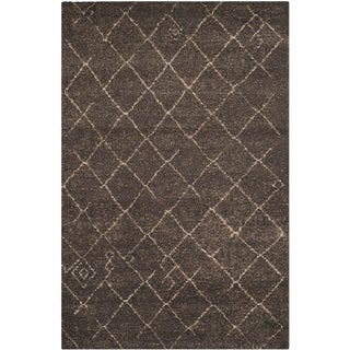 Safavieh Tunisia Dark Brown Rug (3' x 5')