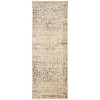 Safavieh Vintage Oriental Warm Beige Distressed Silky Viscose Rug (2'2 x 7')