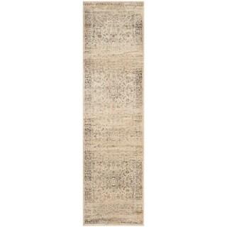 Safavieh Vintage Oriental Warm Beige Distressed Silky Viscose Rug (2'2 x 9')