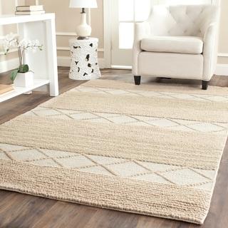 Safavieh Hand-Tufted Natura Beige Wool Rug (9' x 12')