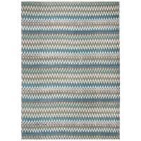 Safavieh Handmade Cedar Brook Teal/ Blue Cotton Rug - 9' x 12'