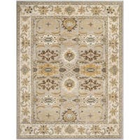 Safavieh Handmade Heritage Timeless Traditional Light Grey/ Grey Wool Rug - 9' x 12'