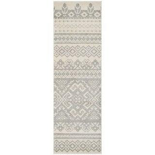 Safavieh Adirondack Southwestern Ivory / Silver Runner Rug (2'6 x 12')