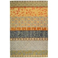 Safavieh Handmade Rodeo Drive Bohemian Collage Multicolored Wool Rug - 9' x 12'