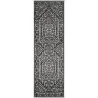 Safavieh Adirondack Vintage Silver/ Black Runner Rug - 2' 6 x 12'
