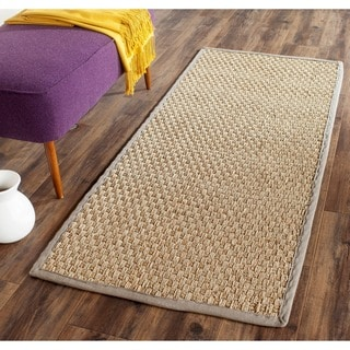Safavieh Casual Natural Fiber Natural Grey Seagrass Rug