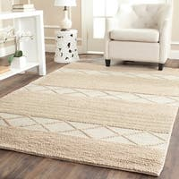 Safavieh Hand-Tufted Natura Beige Wool Rug - 6' x 9'