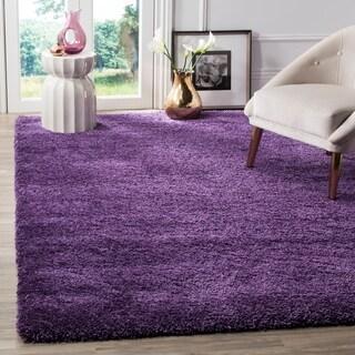 safavieh milan shag purple rug 6u0027 x
