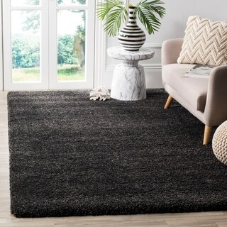 Safavieh Milan Shag Dark Grey Rug (6' x 9')