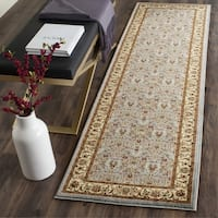Safavieh Lyndhurst Traditional Oriental Light Blue/ Ivory Rug - 2'3 x 17'