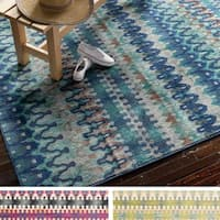"Contemporary Moroccan Boho Area Rug - 5'2"" x 7'7"""