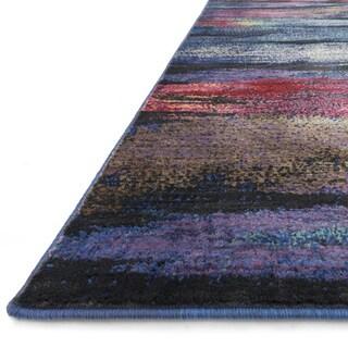 Skye Monet Peacock Rug (2'0 x 3'0)