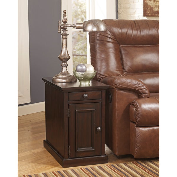 End Year Sale Ashley Furniture: Shop Signature Designs By Ashley Power Chairside End Table