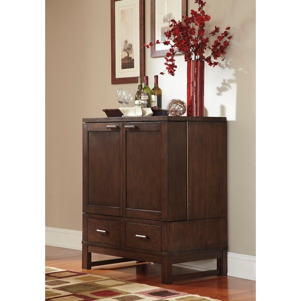 Signature Designs by Ashley Watson Dark Brown Dining Room Server ...