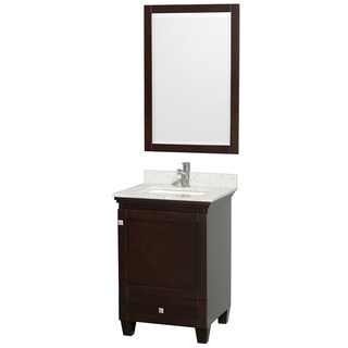 Wyndham Collection Acclaim White 24-inch Single Vanity