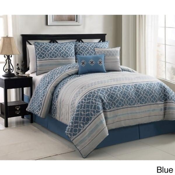 VCNY Havoc Jaquard 6-piece Comforter Set