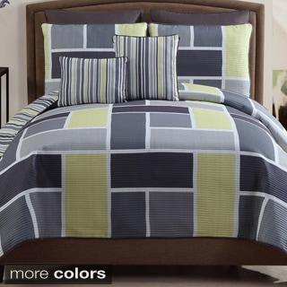 VCNY Morgan 7-piece Contemporary Quilt Set