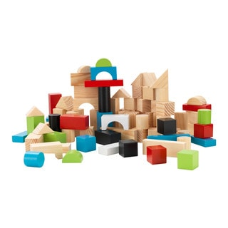 KidKraft Wooden 100-piece Block Set