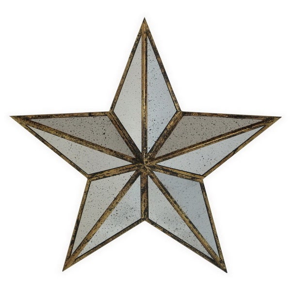 To The Stars Accessories: Shop Glossy Metal Star Wall Art
