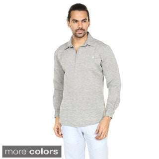 In-Sattva Anita Dongre Men's Pullover Polo Collar Tunic (India)