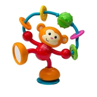 Infantino Stick and Spin High Chair Pal in Monkey