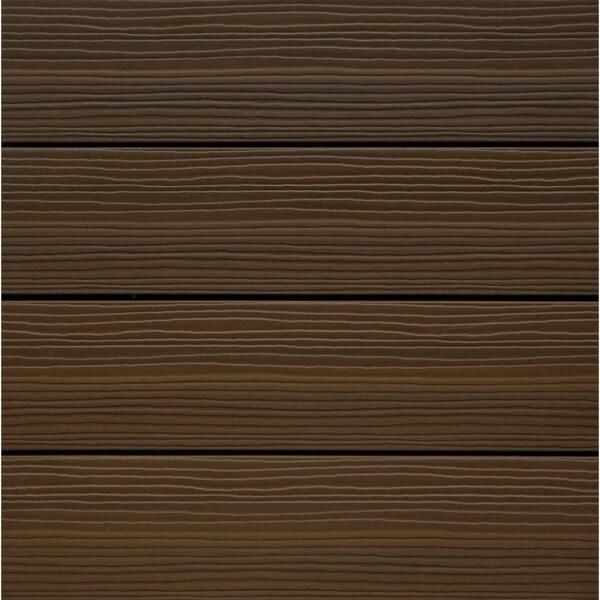 Kontiki Composite Chestnut Interlocking Quickdeck Tiles