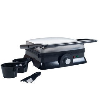 Chef Buddy Electric Dual Purpose Non-stick Grill or Panini Press
