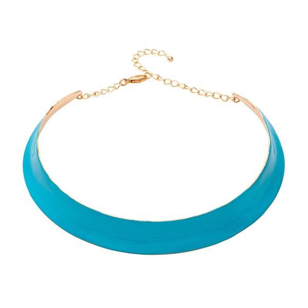 Alexa Starr Brights Hammered Colar Necklace