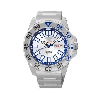 Seiko 5 Men's SRP481K1 Sports Silver Watch