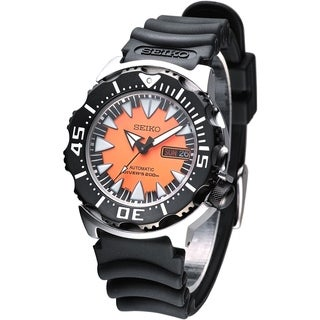 Seiko Men's SRP315K1 Divers Black Rubber Watch