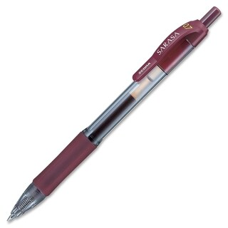 Zebra Sarasa Mahogany Ink Retractable Roller Ball Gel Pen