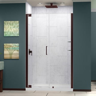 DreamLine Elegance 58 to 60 in. W x 72 in. H Pivot Shower Door