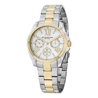 Stuhrling Originals Men's Dynamo Quartz Stainless Steel Bracelet Watch