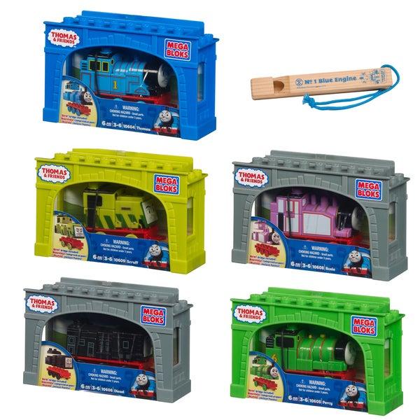 Mega Bloks Thomas Ultimate Train and Whistle Bundle