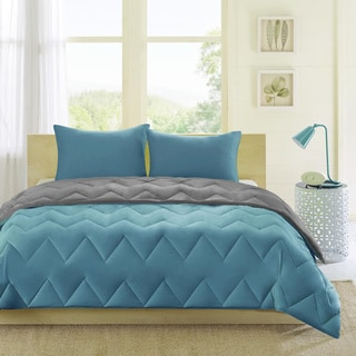 Intelligent Design Penny Reversible Down Alternative Comforter Mini Set