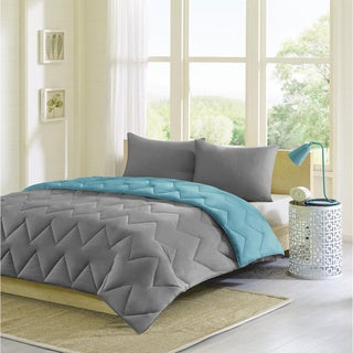 Intelligent Design Penny Reversible Down Alternative Comforter Mini Set
