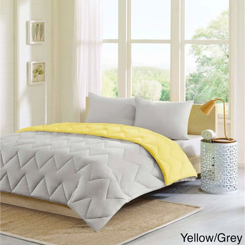 Intelligent Design Penny Reversible Down Alternative Comforter Set