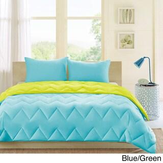 Intelligent Design Penny Reversible Down Alternative Comforter Set