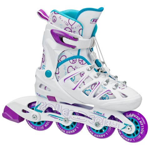 Stinger Girl's 5.2 Adjustable Inline Skates