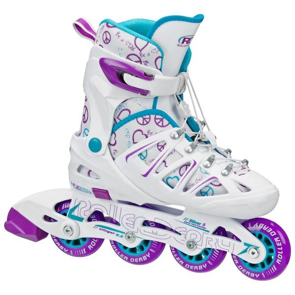 Stinger Girl's 5.2 Adjustable Inline Skates