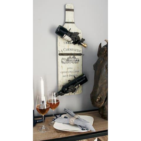 Set of 2 Traditional 30 Inch Vineyard Wine Racks by Studio 350