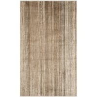 Safavieh Vintage Caramel Abstract Distressed Silky Viscose Rug (2'7 x 4')