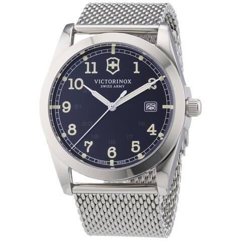 Victorinox Swiss Army Men's 241585 Infantry Black Dial Quartz Watch