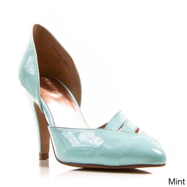 Gomax Women's 'Carabelle 01x' Patent Pointed-toe Pumps