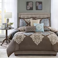 Madison Park Barnett 6-piece Cotton Duvet Cover Set