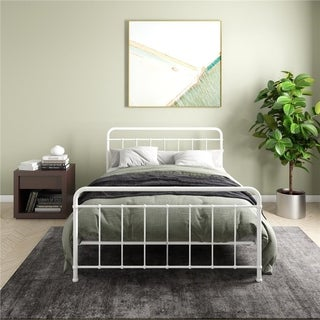 DHP Brooklyn Iron Full Bed Frame