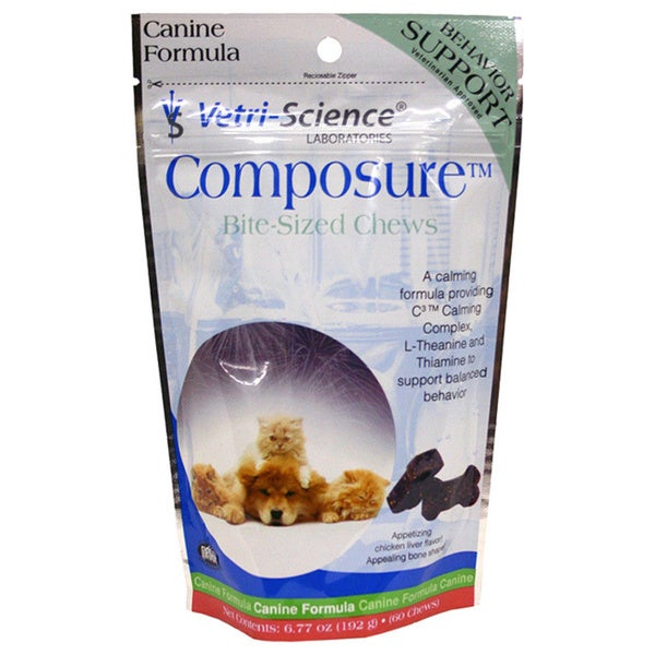 Vetri-Science Composure Calming Chews for Dogs - Free Shipping On ...