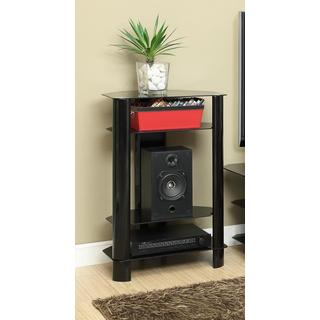 InnovEx Stanford Black Audio Video Stand