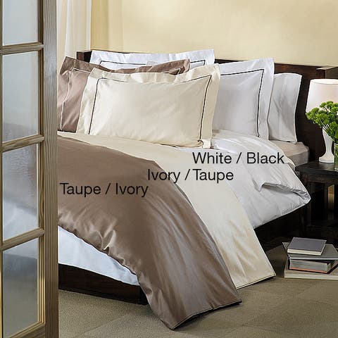 Miranda Haus Egyptian Cotton 800 Thread Count Embroidered Duvet Cover Set