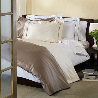 Superior Egyptian Cotton 800 Thread Count Embroidered Duvet Cover Set